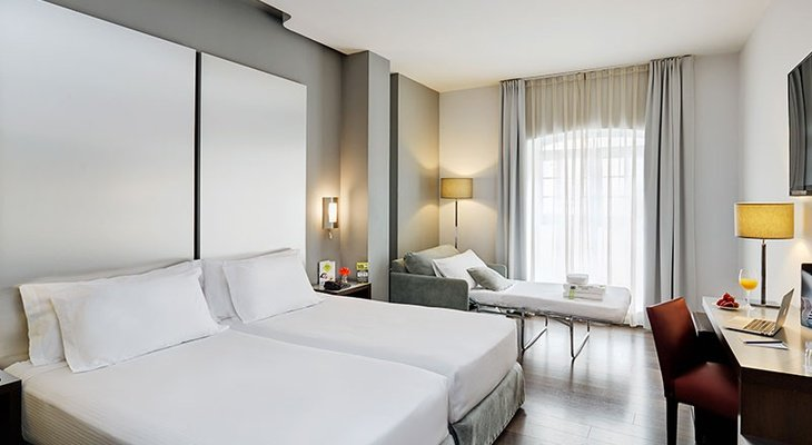 The Sercotel Coliseo Bilbao is the ideal hotel for travelling ...